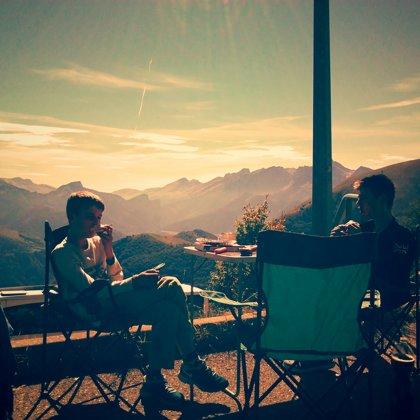 Hihj in the Julian Alps at La Salette
